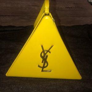 Ysl pyramid bag